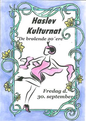 Plakat: Haslev Kulturnat 2016