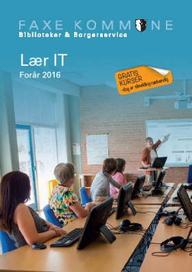 Forside: Lær IT folder forår 2016