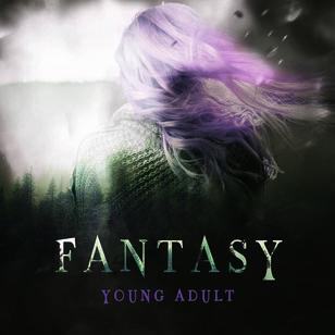 Forside på YA-Fantasy