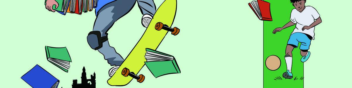 Forside: Kom så drenge! - bøger er cool!