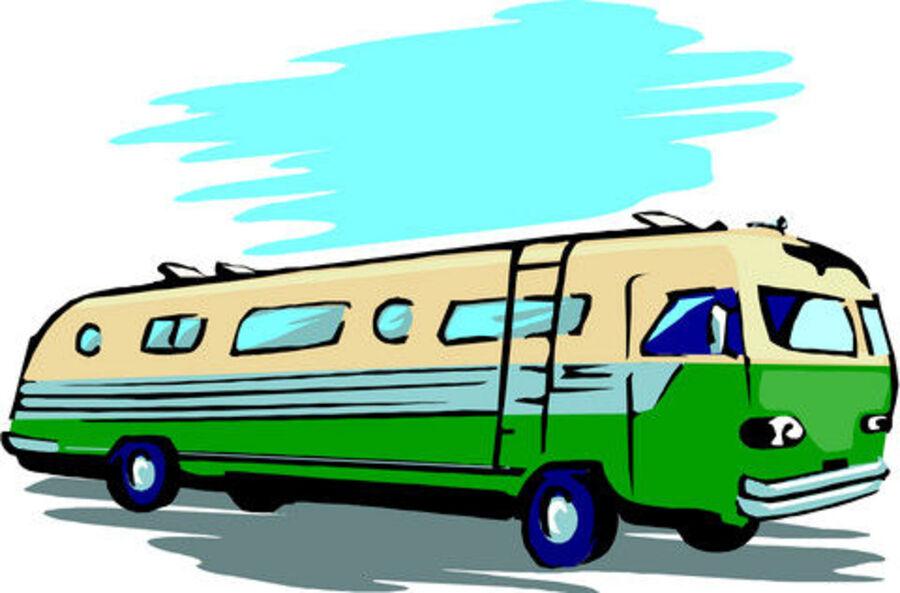 Tegning af bus