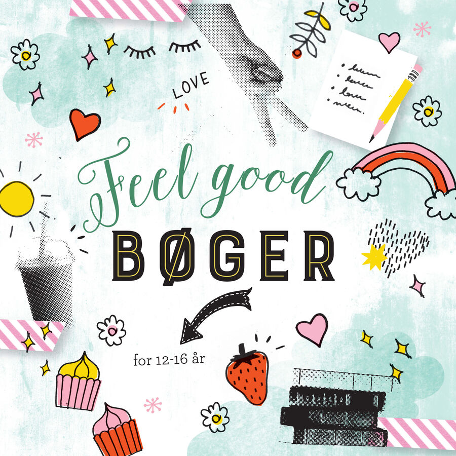 Feel good bøger for 12 - 16 år