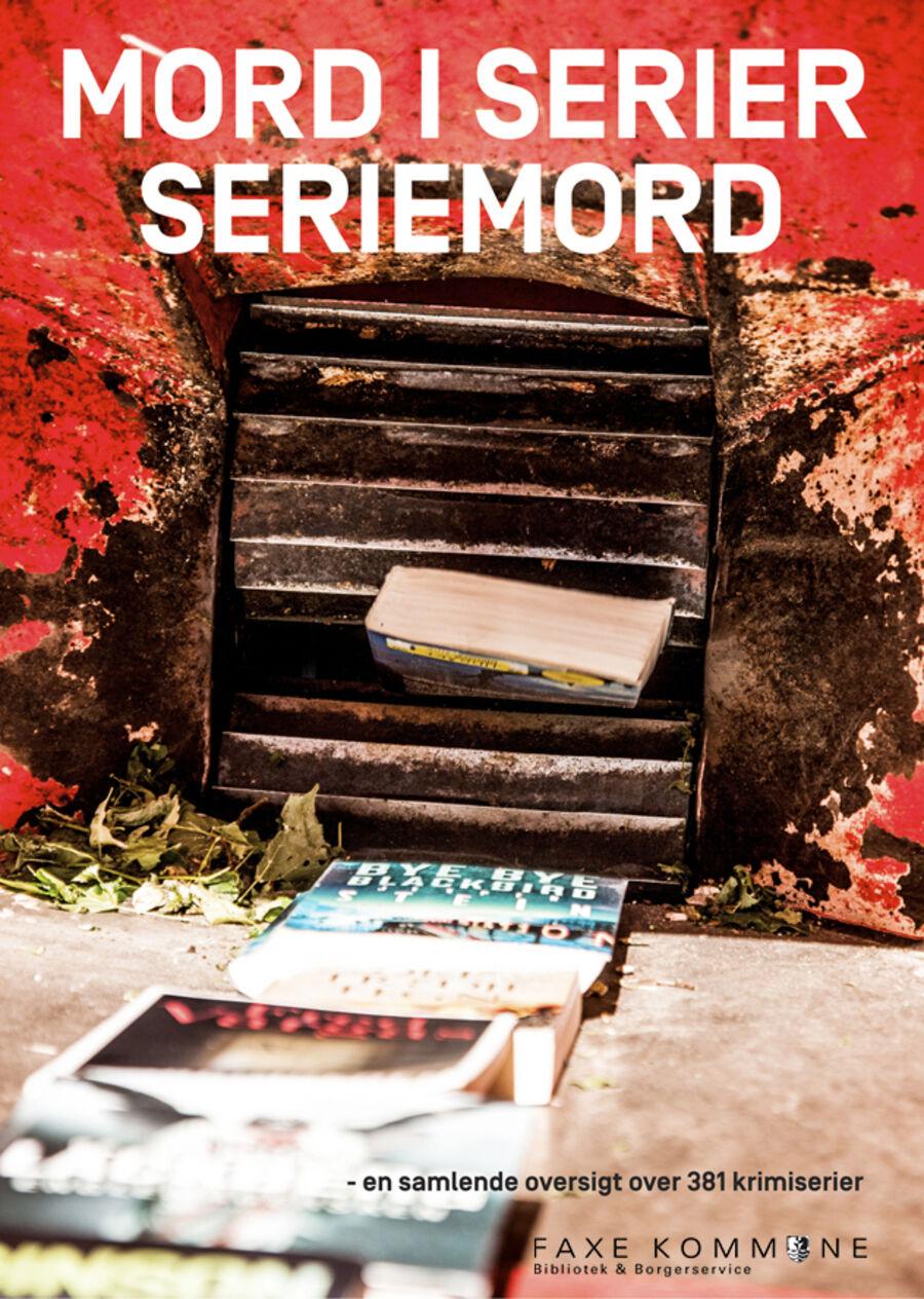 Pjece med krimiserier udarbejdet af Hjørring Bibliotekerne