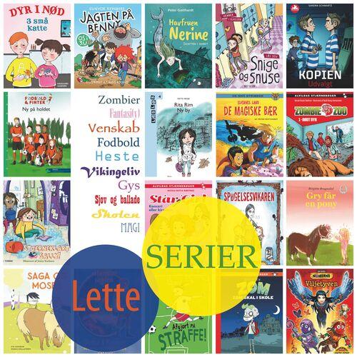 Forside af Lette bøger